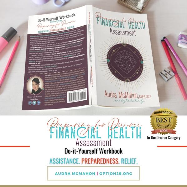 preparing for divorce financial health assessment workbook