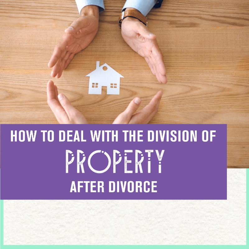 property split in divorce