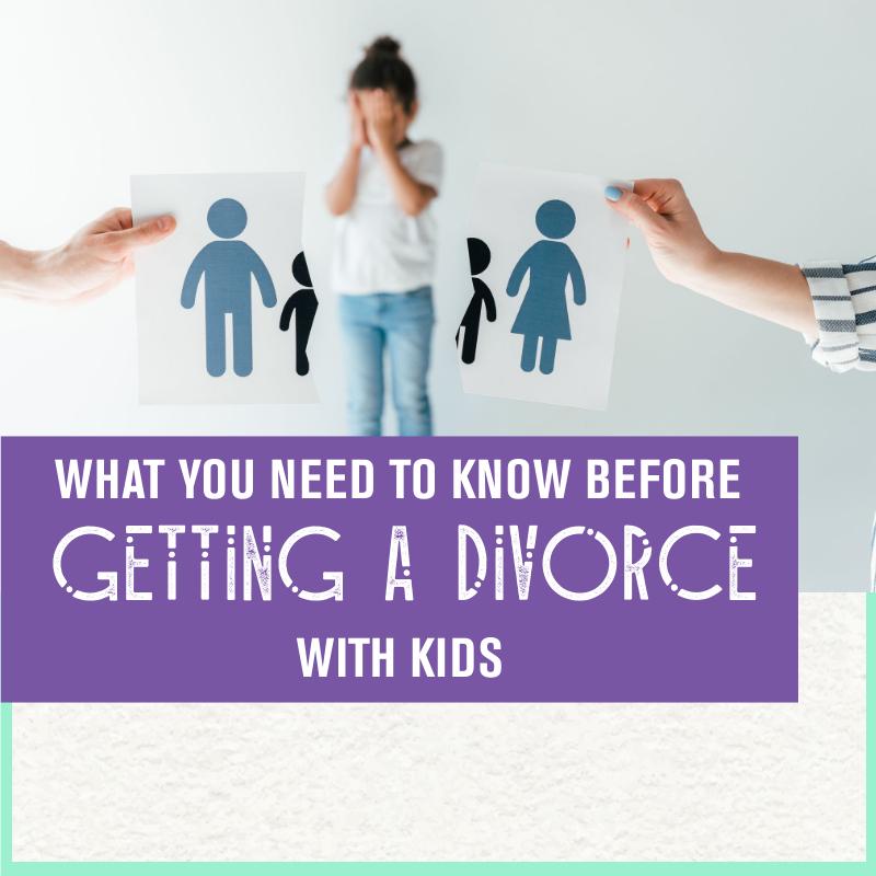 getting a divorce with children